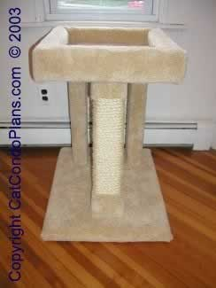 buy cat tree plans - plan 1