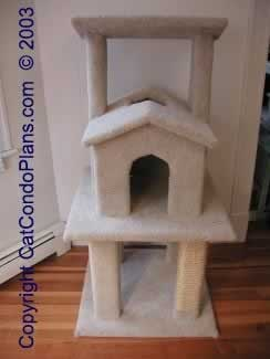 make a cat tree - plan 3