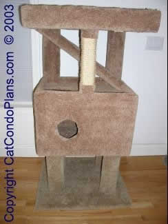 make a cat tree - plan 4