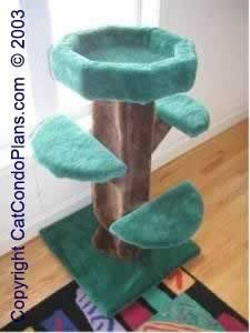 make a cat tree - plan 5